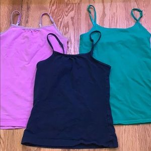 Pack of 3 girls tank tops